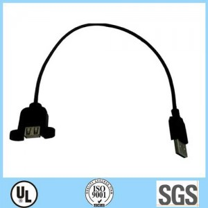 USB AM to USB/AF Cable